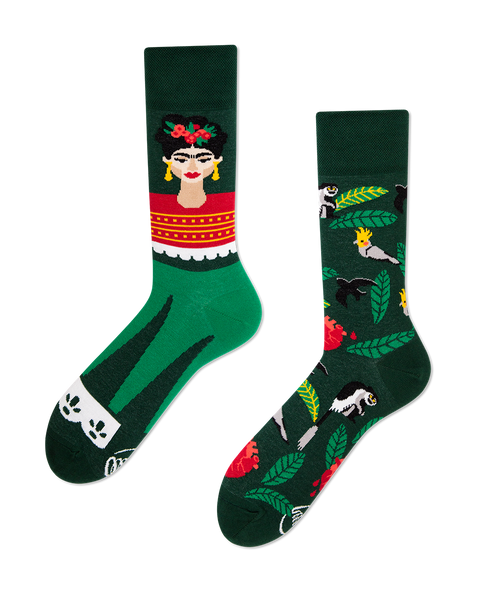 Feel Frida Socks by Many Mornings - My Modern Met Store