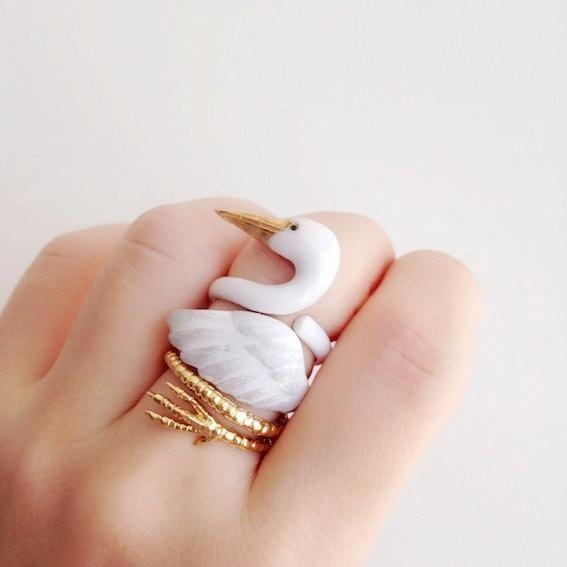 Adjustable Three-Piece Crane Ring - My Modern Met Store
