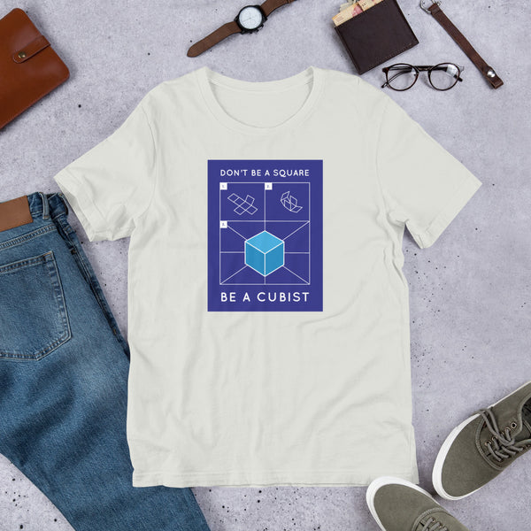 Be a Cubist Graphic Unisex T-Shirt