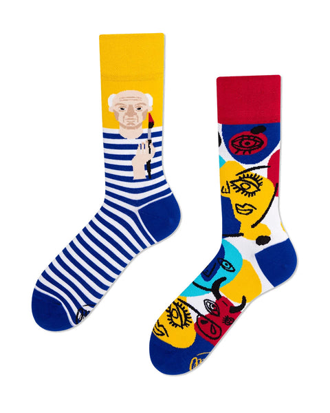 Picassocks Socks by Many Mornings - My Modern Met Store