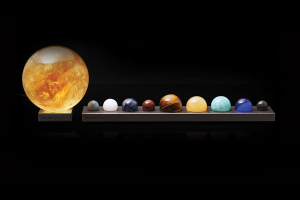 Deskspace Solar System Series With Sun Lamp - My Modern Met Store