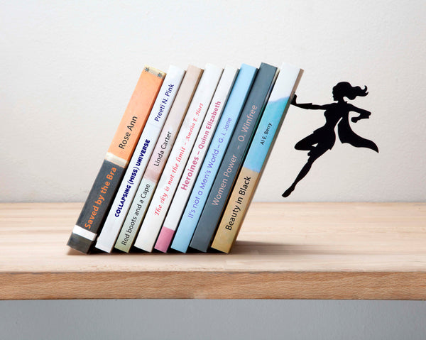 Supergal Bookend - My Modern Met Store
