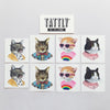 Cat Club Temporary Tattoo Set by Tattly