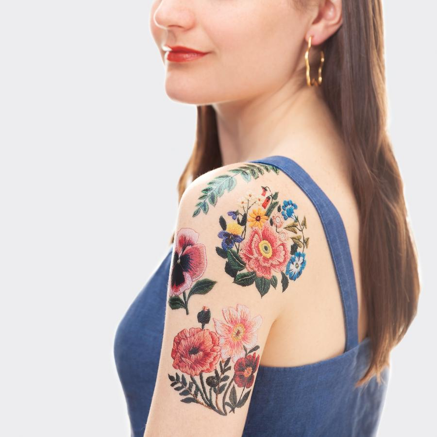 Embroidery Temporary Tattoos - My Modern Met Store