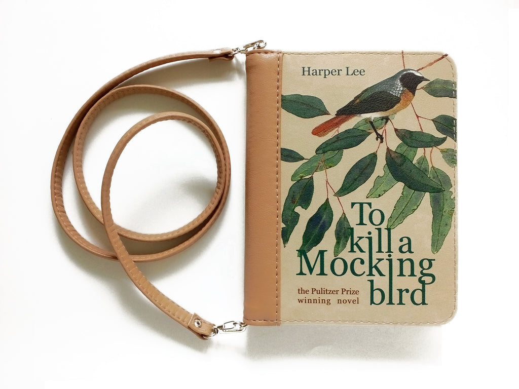 How To Make A Book Clutch With Zipper ~ Beloved to kill a mockingbird transformed into stylish book clutch