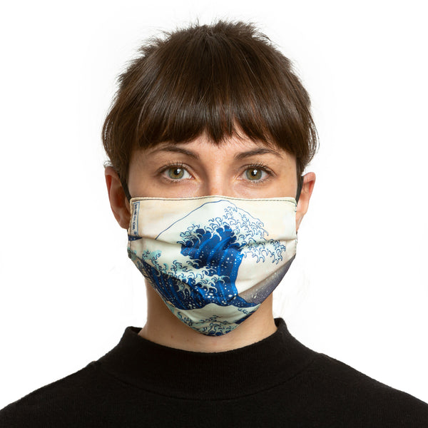 The Great Wave Reversible Face Mask