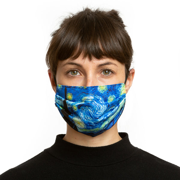 Van Gogh Reversible Face Mask