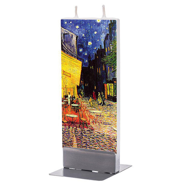 'Café Terrace at Night' Candle - My Modern Met Store