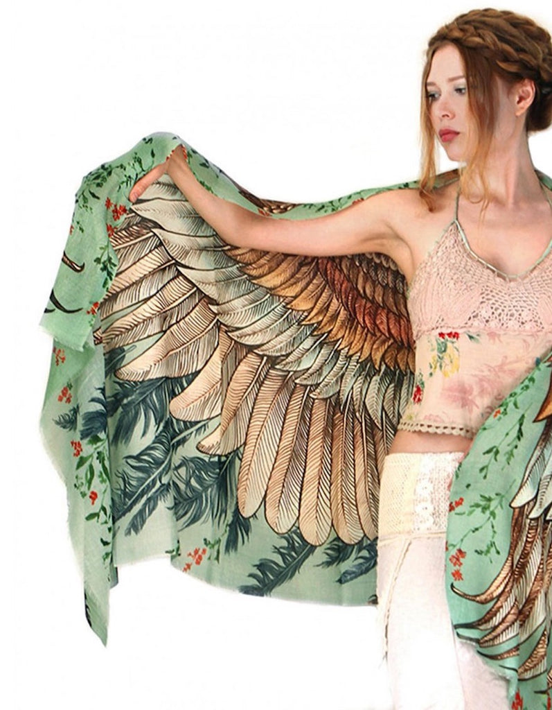 Bird Wings Scarves by Shovava
