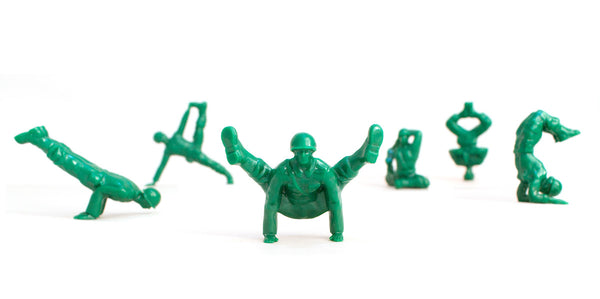 Yoga Joes: Advanced Poses - My Modern Met Store