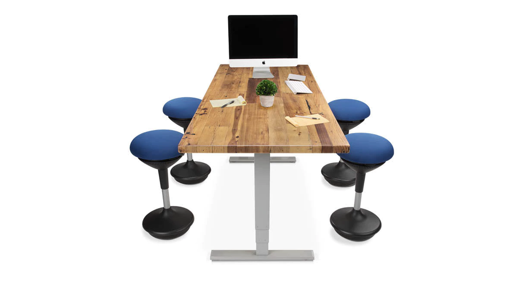desks solid in main wood matching lshaped of l height among desk standing have uplift most our been custom pine blog while shaped your options popular the sometimes always spotlight adjustable