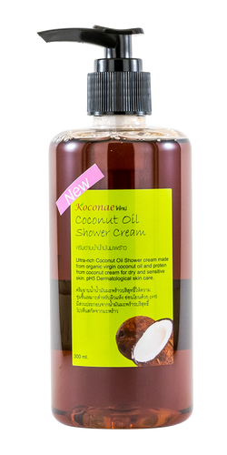 Coconut Oil Shower Gel