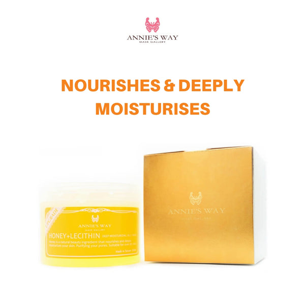 ANNIE'S WAY Honey + Lecithin Deep Moisturizing Jelly Mask 250ml