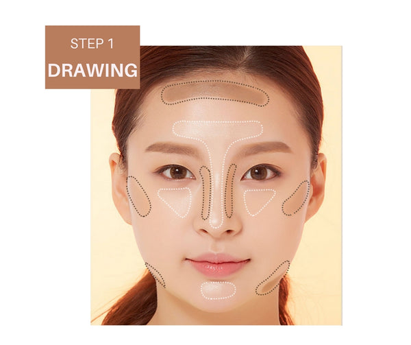 A'PIEU 3D Contouring Stick Duo how to use step 1