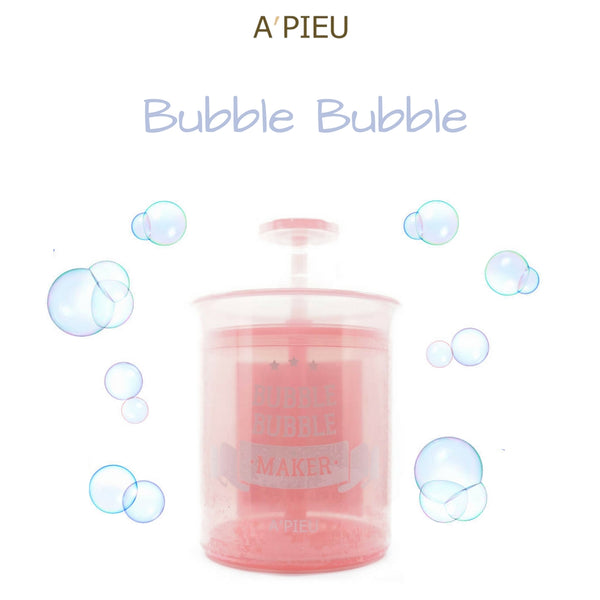 A'PIEU Bubble Bubble Maker (Pink)