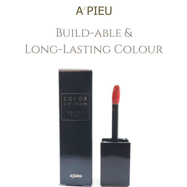 A'PIEU Color Lip Stain Velvet Tint #CR05