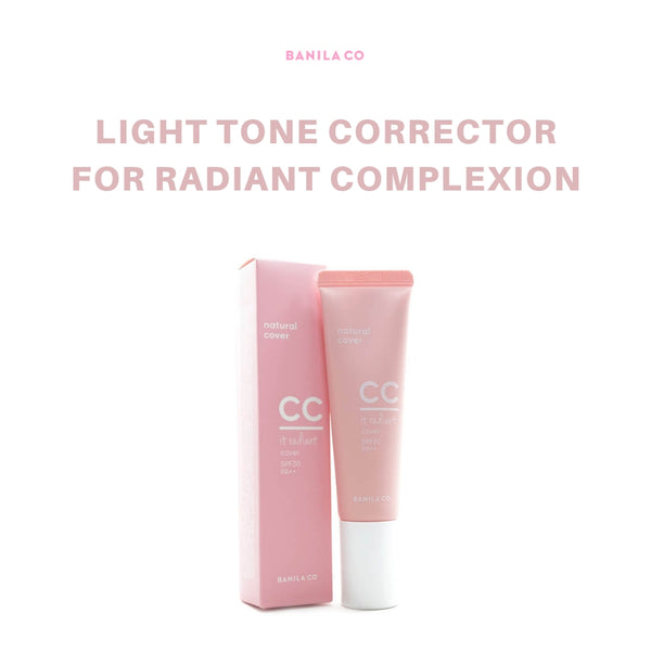 BANILA CO It Radiant CC Cover (Natural Beige) 30ml