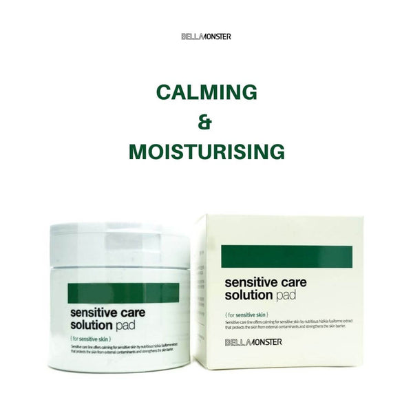 BELLAMONSTER Sensitive Care Solution Pad (70pcs) 165ml