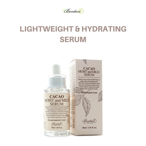 Benton Cacao Moist And Mild Serum 30ml