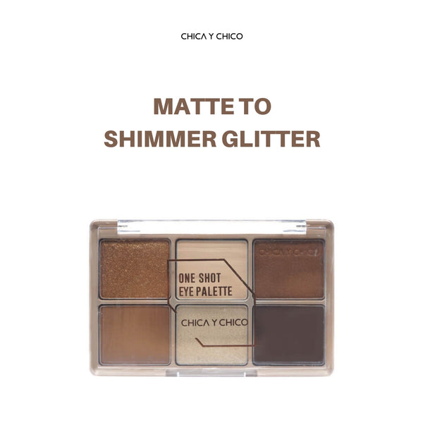 CHICA Y CHICO One Shot Eye Palette (#1 Day Drink) 9g