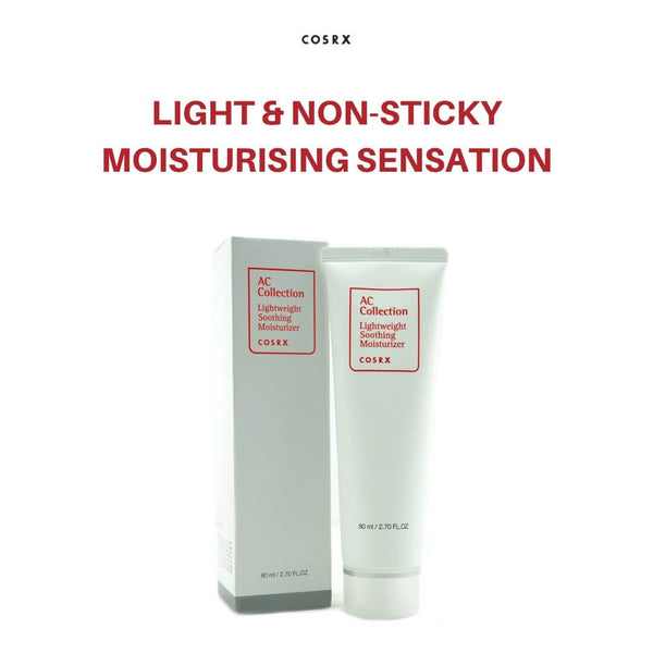 COSRX AC Collection Lightweight Soothing Moisturizer 80ml
