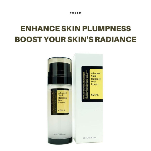 COSRX - Advanced Snail Radiance Dual Essence 80ml