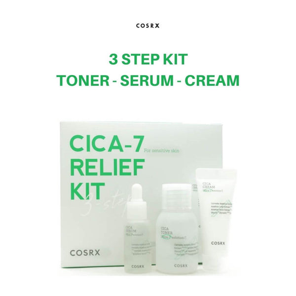 COSRX Pure Fit Cica-7 Relief Kit (3pcs)