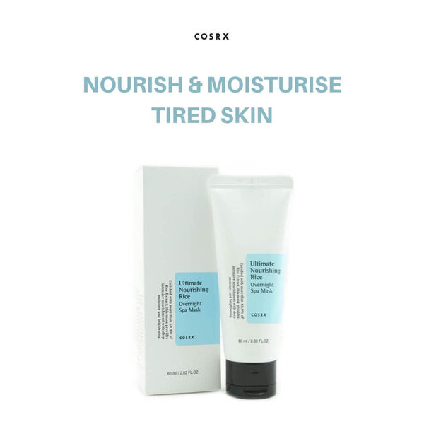 COSRX Ultimate Nourishing Rice Overnight Spa Mask 60ml
