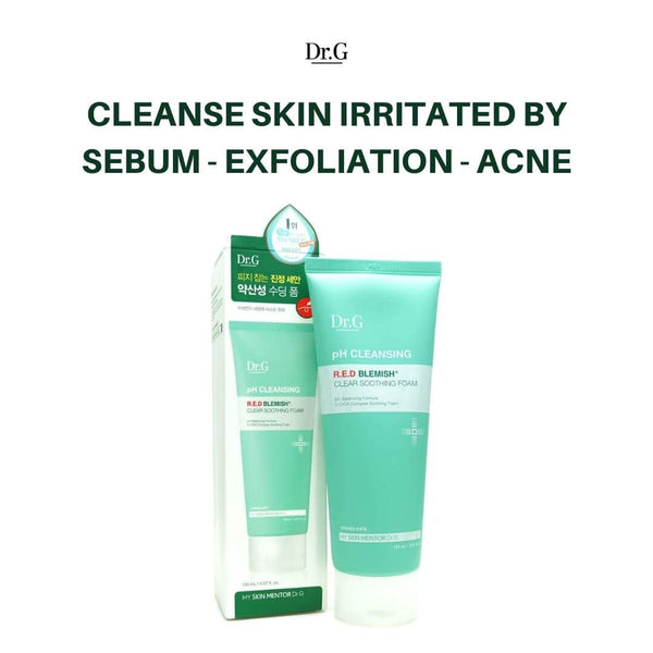 Dr.G pH Cleansing R.E.D Blemish Clear Soothing Foam 150ml