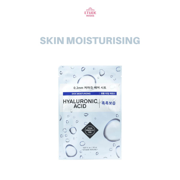 Etude House 0.2mm Therapy Air Mask 1pc Hyaluronic Acid