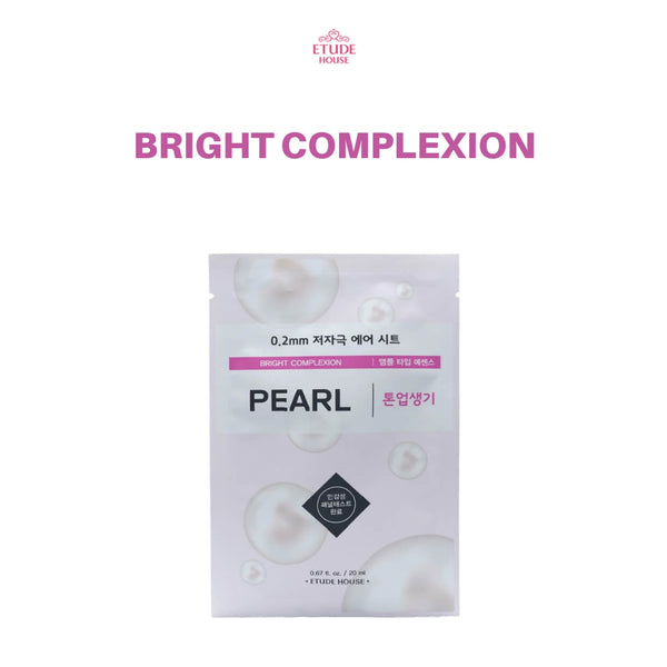 Etude House 0.2mm Therapy Air Mask 1pc Pearl
