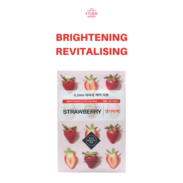 Etude House 0.2mm Therapy Air Mask 1pc Strawberry