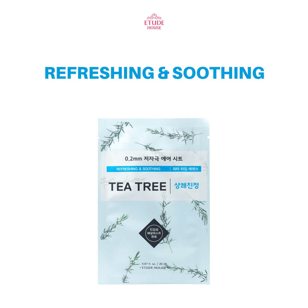 Etude House 0.2mm Therapy Air Mask 1pc Tea Tree