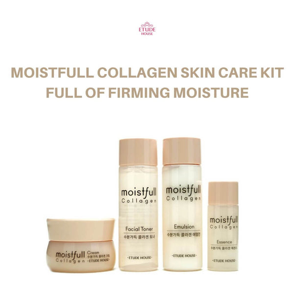 Etude House Moistfull Collagen Skin Care Kit (4pcs)