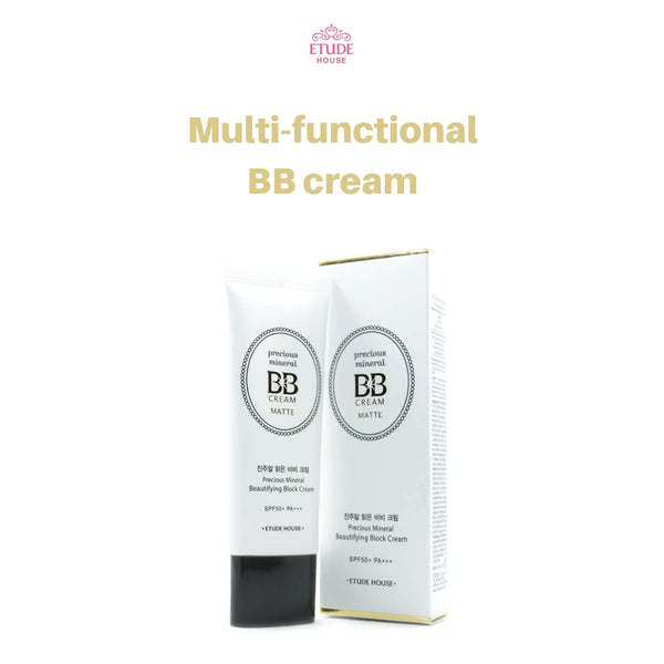 Etude House Precious Mineral Beautifying Block Cream (Matte Vanilla) 45g