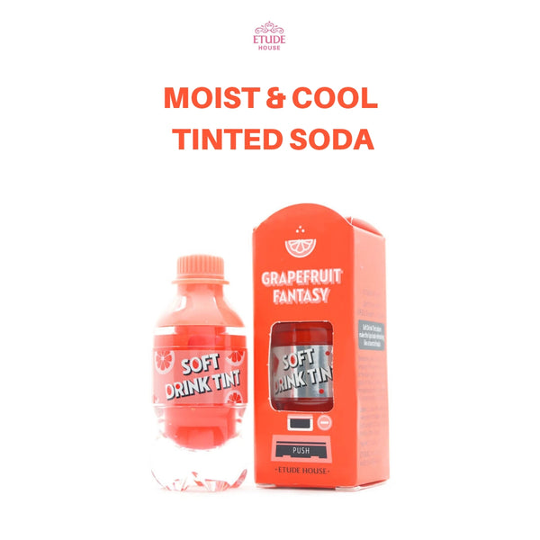 Etude House Soft Drink Tint (#OR201 Grapefruit Fantasy) 4.6g