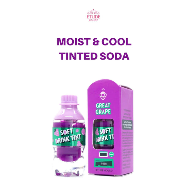 Etude House Soft Drink Tint (#PP501 Great Grape) 4.6g