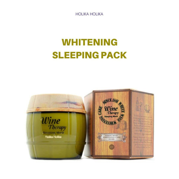 Holika Holika Wine Therapy Sleeping Mask (#White Wine) 120ml