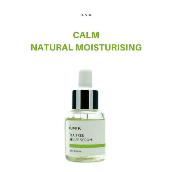 IUNIK Tea Tree Relief Serum 15ml