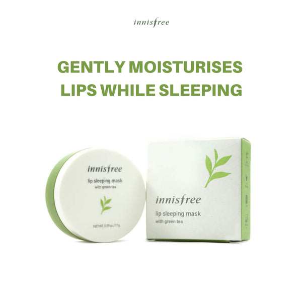 Innisfree Green Tea Lip Sleeping Mask 17g