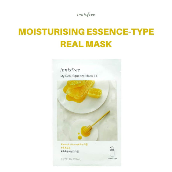 Innisfree My Real Squeeze Mask (Manuka Honey) 20ml
