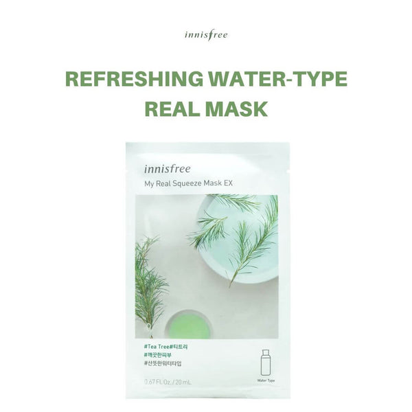 Innisfree My Real Squeeze Mask (Tea Tree) 20ml
