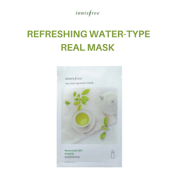 Innisfree My Real Squeeze Mask (Green Tea) 20ml