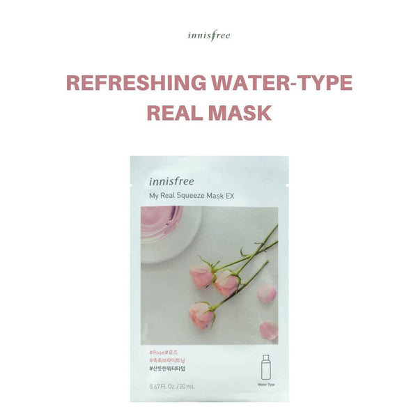 Innisfree My Real Squeeze Mask (Rose) 20ml