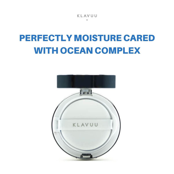 KLAVUU Blue Pearlsation High Coverage Marine Collagen Aqua Cushion 12g