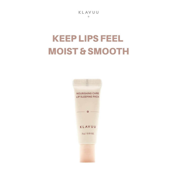 KLAVUU Nourishing Care Lip Sleeping Pack 3g