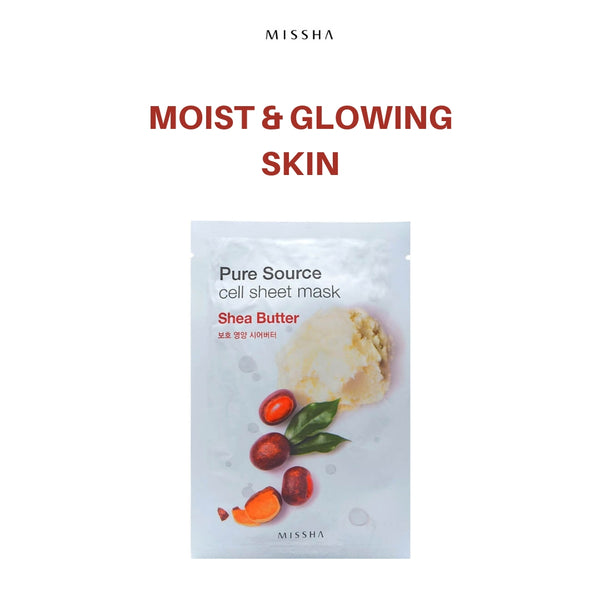MISSHA Pure Source Cell Sheet Mask (Shea Butter) 21g