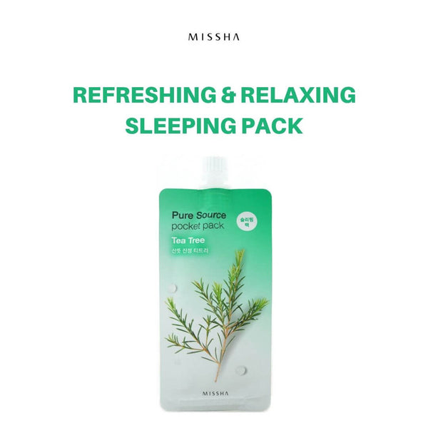 MISSHA Pure Source Pocket Pack (Tea Tree) 10ml