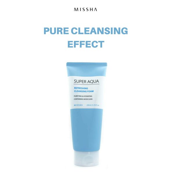 Missha Super Aqua Refreshing Cleansing Foam 200ml