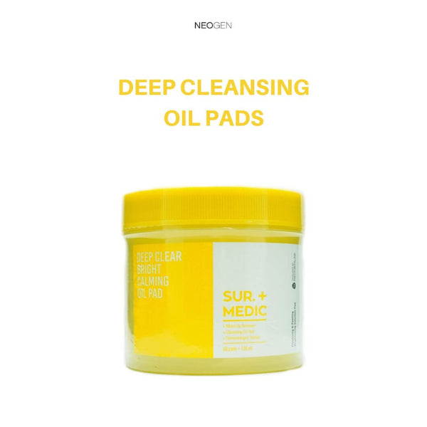 NEOGEN Sur.Medic+ Deep Clear Bright Calming Oil Pad 130ml/60 pads